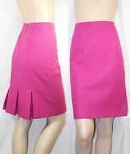 "$625 ARMANI COLLEZIONI sz 8 44 32"" Pink Pleated Skirt Dress Women Gift NEW ITALY"