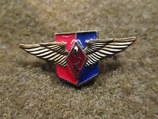FRANCE FRENCH AIR FORCE MEDICAL STUDY & RESEARCH CENTER BADGE INSIGNIA PIN DRAGO