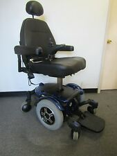 "PRIDE QUANTUM 600 POWER WHEELCHAIR  WITH SEAT LIFT. LARGE SEAT 20"" X 20"""