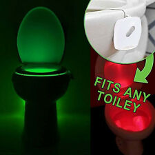 2016 LED Human Motion Activated Toilet Lamps PIR Sensor LED Night Light