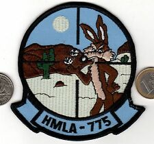 US Marine Corps HMLA 775 Light Attack Helicopter Squadron Patch Roadrunner USMC