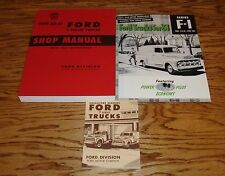 1951 Ford F-Series Truck Shop Service Manual Owners Manual Sales Brochure Lot 51