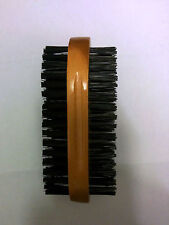 Mens Black Bristle Double-Sided military Hair Brush