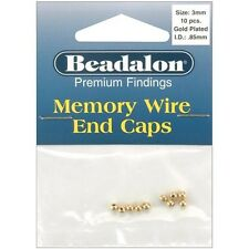 Beadalon Memory Wire End Caps 3mm - 249579