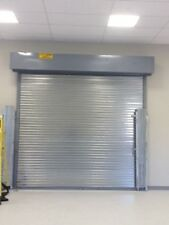 6w x 10h UL Classified 3 Hour Fire Rated Roll Up/Down Manual Steel Door