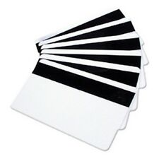 4 Blank Mag Strip ID Cards 1/2'' HiCo 3 Track Inkjet Printable PVC Card
