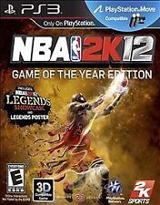 NBA 2K12 GAME OF THE YEAR EDITION---Playstation 3 ps3