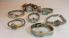 JOB LOT 7 LADIES FASHION BRACELET WRIST WATCHES / SPARES - REPAIRS - NOT TESTED