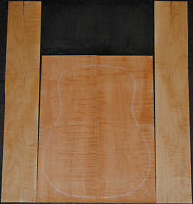 Curly Maple Back And Side Set Luthier Tonewood