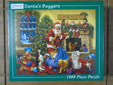Santa's Beggars 1000 Piece Vermont Christmas Jigsaw Puzzle New