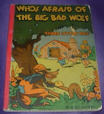 WALT DISNEY  WHO'S AFRAID OF THE BIG BAD WOLF?  THREE LITTLE PIGS  1933  McKAY