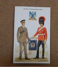 Military Uniforms Postcard the Royal Scots Dragoon Guards . unposted