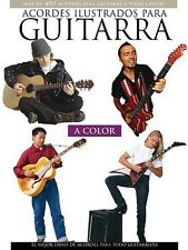 Acordes Ilustrados Para Guitarra A Color - Book NEW 014001076