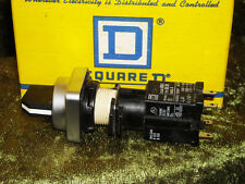 Square D  Selector SWITCH, 9001 D6G4S, with DA20 BLOCK NEW IN BOX! 9001D6G4sDU20