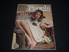 Young Brooke Shields Pretty Baby 1978 People Magazine