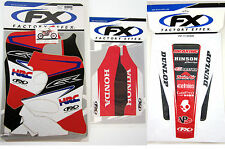 Factory Effex EVO 13 Graphics Forks Rear Fender Honda CR 125 250 CR250 93 94 NEW