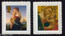 2007 CHRISTMAS MADONNA and CHILD MINT PAIR SG 2787, 2788