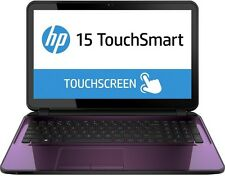 "HP 15.6"" TouchScreen Intel Pentium 2.66GHz 4GB 1TB DVD+RW WebCam Wireless PURPLE"
