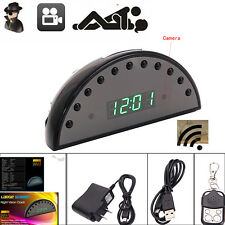 1080P HD Alarm Clock Camera Motion DVR Night Vision Digital Video Cam /w Remote
