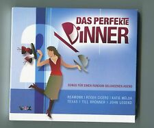 V.A. 2 cds sampler DAS PERFEKTE DINNER vol. 2 © 2007 reamonn ROXY MUSIC jarreau