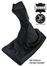 BLACK STITCH in pelle per Mercedes CLK W209 Pomello Del Cambio Copertura Ghetta 02-09 manuale