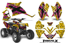 POLARIS OUTLAW 90 GRAPHICS KIT CREATORX DECALS STICKERS TXPY
