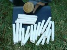 200 Musket blanks Paper tubes for Reenactment living history events. Free Ship!