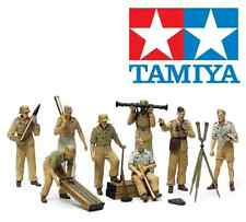 Tamiya 35343 German Africa Corps Luftwaffe Artillery Crew Set 1:35 Scale Kit