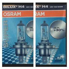 2x OSRAM Super Bilux H4 12V 60/55W