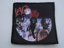 SLAYER LIVE UNDEAD SUBLIMATED PATCH