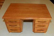 Oak Desk Jewelry Box / Jewelry Armoire