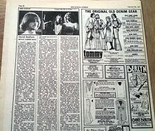 MIKE OLDFIELD / D Bedford Odyssey concert review 1977 UK ARTICLE / clipping
