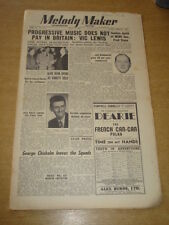 MELODY MAKER 1950 JUNE 3 VIC LEWIS ALAN DEAN FRED STONE HERB JEFFRIES JAZZ  +