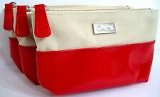 OPI RED/BEIGE COSMETIC BAG PURSE for nail polish, lipstick, etc NEW, Party Gift!