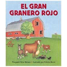 Big Red Barn (Spanish edition): El gran granero rojo-ExLibrary
