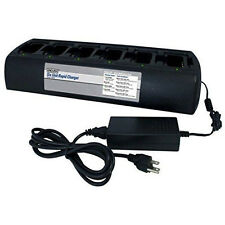 Endura 6 Unit Bank Gang Rapid Charger for Motorola XPR6500 XPR6300