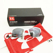 UNDER ARMOUR *YOUTH* NITRO L SUNGLASSES  SHINY WHITE / GRAY MULTIFLECTION  16847