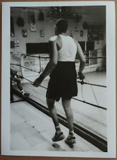 Photo Argentique Salle de Sport Boxe Boxeur Marseille Vers 2000