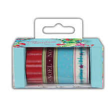 Papermania 'At Christmas by Lucy Cromwell' Patterned Craft Tape