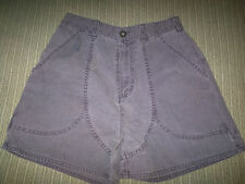 PATAGONIA 100% ORGANIC COTTON CANVAS STAND UP GRAPE SHORT WOMEN'S SIZE 6