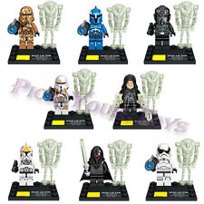 HOT Lot Of 8 Star Wars The Force Awakens Minifigures Building Block Toy For kids