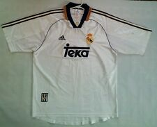 VINTAGE MADE IN PORTUGAL ADIDAS REAL MADRID SOCCER JERSEY IN SIZE XL