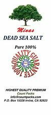 Dead Sea Salt 10 LB Pure 100% From MINAS Free Shipping 10 LB Fine Grain Natural