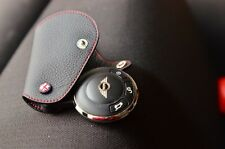 Black with Red Stitching Leather case for MINI COOPER S JCW R55-R60 Countryman