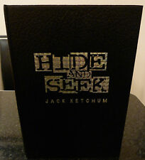 JACK KETCHUM - HIDE AND SEEK - LETTERED EDITION SIGNED TRAYCASE CEMETERY DANCE