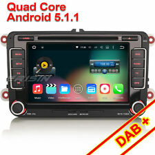 Quad Core Android 5.1.1 Car DVD GPS Wifi DAB VW Passat Caddy Polo Touran ES4698V