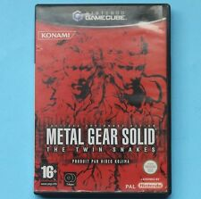 Metal Gear Solid: The Twin Snakes (Nintendo GameCube) NO MANUAL PAL