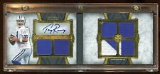 TONY ROMO 2011 TOPPS BOOKLET AUTOGRAPH 1/1 MASTERPIECE 6X PATCHES LOGO TRUE 1/1