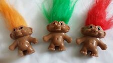12 x LUCKY TROLL DOLL PARTY BAG FILLERS/ FAVOURS FOR WEDDINGS/CUTE TOYS NEW