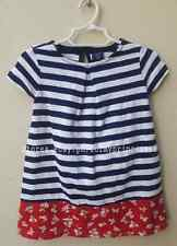 AUTH BABY GAP PRINTED PLEAT DRESS SIZE 18-24 MONTHS BNEW